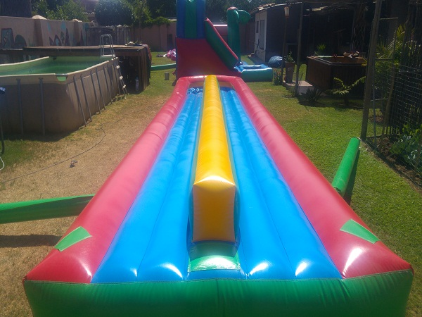 12m double surf slide for hire