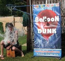Balloon Dunk or Dunk Tank